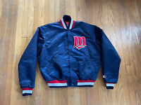 Minnesota Twins Vintage 90's Satin Starter Jacket Mens XL Fits L EUC Rare MLB