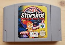 Starshot Panique au Space Circus Nintendo 64