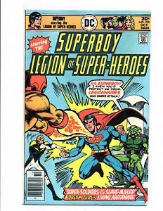 Superboy #220 (Oct 1976, DC) - Fine