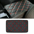 Car Armrest Pad Cover Center Console Box PU Leather Mat Cushion Soft Accessories