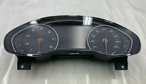 2011-2012 AUDI A8L A8 INSTRUMENTAL PANEL DASH GAUGE CLUSTER 4H0920980C