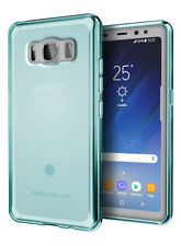 For Samsung Galaxy S8 Active Case Blue Soft Gel TPU Silicone Cover Skin