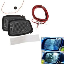 Universal 12V Car Side Mirror Glass Heater Defogger Heating Pad Rain Evaporator