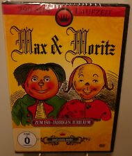 Max & Moritz plus 4 Märchen + Wilhelm Busch +  Der Zeichentrick Spaß auf DVD #T5
