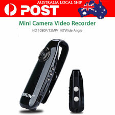 Portable 1080P Full HD Mini Camera Police Body Bike 130Degree Loop Record F2.0