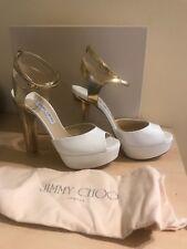 Sandalo Jimmy  Choo, colore bianco, tacco alto, numero 42