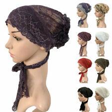Turbante musulmán Hijab bajo con cordones de hueso Sombrero Gorra Interior Bufanda Ninja Sombrero Headwear