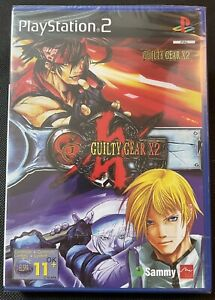 Guilty Gear X2 Ps2 Game New Sealed U.K. Pal Playstation 2