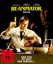 Re-Animator 1-3 FSK18 Blu-ray *NEU*OVP*