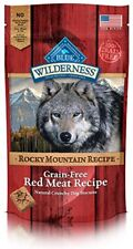 Wilderness Rocky Mountain Recipe Trail Treats Red Meat Dog Biscuits 8 oz