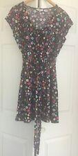 NEW LOOK Dress Floral Multicolor Cotton Casual 8 Medium