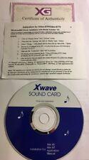 Yamaha Xwave Sound Card Drivers&Utilities CD Video-67P/Video-67TV Win 95/NT-RARE