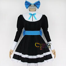 Anime for Panty & Stocking Bow Lolita Dress Cosplay Costume Women Party Clothing