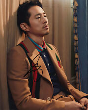 Steven Yeun The Walking Dead signed 10x8 photo Online COA [15090] In Person
