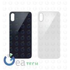 Back Cover Vetro BIG HOLE per Apple iPhone X 10 A1901 Scocca Retro CopriBatteria