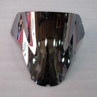 2000-2001 Silver Windshield Screen CBR900RR CBR929RR For Honda Double bubble