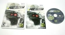 Need for Speed: ProStreet (Nintendo Wii, 2007) Complete *Clean CD* Free Shipping
