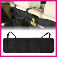 Car Seat Storage Box Coin Bag Organizer Pocket Hanging Holder Pouch Tidy Black