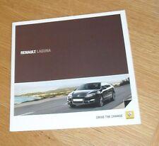 Renault Laguna Brochure 2010 Expression Dynamique GT Line 2.0 1.5 dci