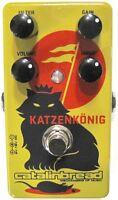 Used Catalinbread Katzenkonig Overdrive Distortion Guitar Effects Pedal