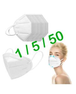 Atemschutzmasken FFP2 Atem Maske KN95 Mundschutz ohne Ventil , zertifiziert