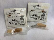 Bruce Richardson's N Scale Resin Model Cars Kits Ford