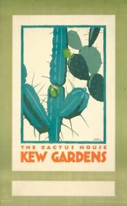 Framed Print - Poster for Kew Gardens Cactus House (Picture Art Royal Botanic)