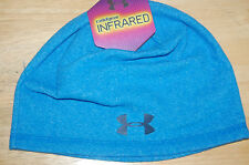 a314198014e under armour mens survival coldgear infrared beanie hat blue osfa style  1262145