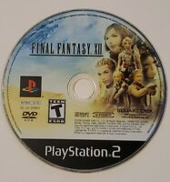 PS2 Final Fantasy XII 12 Sony PlayStation 2 Video Game - 2006 Disc Only & Tested