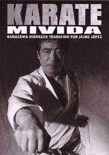 Karate Mi Vida Spanish language Book Kanazawa Hirokazu Traducido Por Jaime Lopez