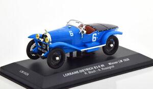 1:43 Ixo Lorraine-Dietrich B3-6 Winner 24h Le Mans 1926