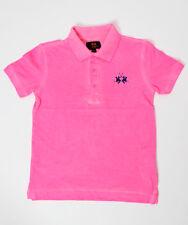 LA MARTINA Jungen Poloshirt neon-pink Gr.8/128, 10/140 und 12/152 NEU %SALE%