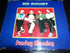 No Doubt / Gwen Stefani Sunday Morning Australian 5 Track CD Single