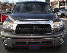 2007-2009 Toyota Tundra Black Billet Grille Insert-Bumper 3Pcs Set