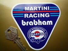 BRABHAM MARTINI RACING TRIANGULAR RALLY RACE CAR sticker Formula One F1 etc