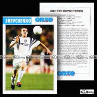 SHEVCHENKO ADREI (DYNAMO KIEV) - Fiche Football / Футбол 1998