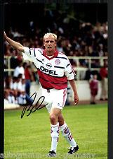 Mario Basler super grandi foto 20x30 cm il Bayern Monaco ORIG. Sign. +02
