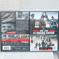 DVD DOCUMENTAIRE JUIN 1940 LE GRAND CHAOS VU FRANCE 3 GUERRE 39/45 HITLER NEUF B