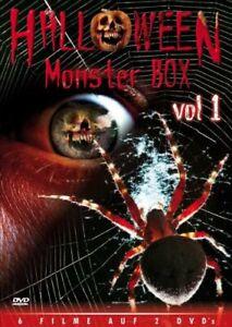 Dvd - Halloween Monster Box, Vol. 1 (2 Dvds) DVD18 #G1994042