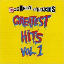 COCKNEY REJECTS GREATEST HITS VOL. 1 NO FUTURO RECORDS VINYLE NEUF NEW VINYL LP