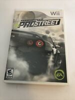 Need for Speed: ProStreet (Nintendo Wii, 2007) Good Condition