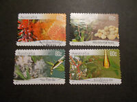 2011 Australia Self Adhesive Post Stamps~Native Plants~Fine Used, UK Seller