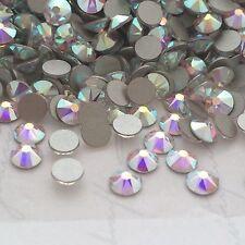 Swarovski nail art crystals 250 x SS10 AB diamond rhinestones diamantes glue on