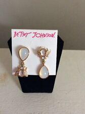 $35 Betsey Johnson Luminous Bug Drop Earrings New 2016 BJL-7A