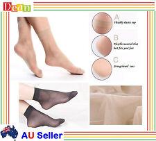 3/12 Pr Women Ladies Sheer Stockings Elastic Short Anklets Silk Socks Short BULK