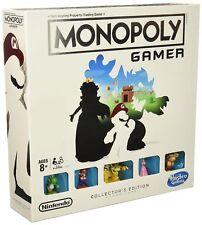 Gamer Monopoly Collectors Edition Nintendo Super Mario Bros Board Game Power New