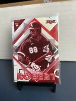2020 Topps Fire Luis Robert Rookie SSP Red Blaze Exclusive RARE White Sox!!!!