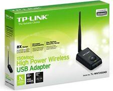 TP-Link TL-WN7200ND Long Range High Power Wireless WiFi USB Adapter Brand New