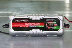 Dino KRAFTPAKET KFZ Batterieladegerät 12V 24V-10A Auto Batterie Ladegeraet Motor