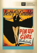 Pin-Up Girl - Region Free DVD - Sealed